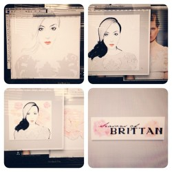 Follow my talented dear friend @seasonsofbrittan www.seasonsofbrittan.com + follow @vfactorygirl {that's my work insta} !