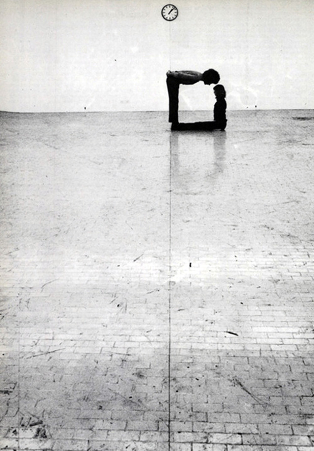 wryer:  Klaus Rinke - Time, Space, Body and Action (1972)