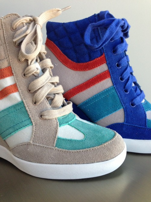 Bold New Wedge Sneakers from Seychelles