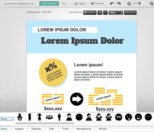 10 Tools for Creating Infographics