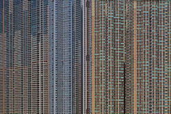 Eye-Popping Photographs of Hong Kong High-Rise Apartment Buildings