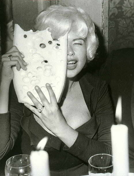 retrogasm:  Jayne Mansfield and Swiss cheese…