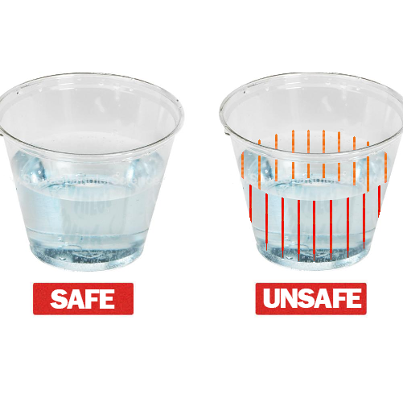 A startup called DrinkSavvy is creating drinkware that changes color when date rape drugs are present, going from clear to red.