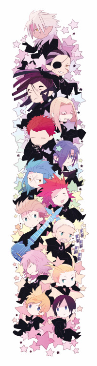otaku-visualkei-gamer:  source unknown  Organization XIII!!!