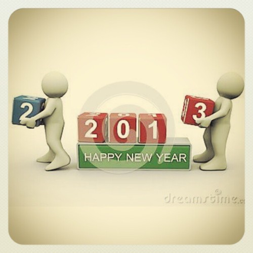 Out with the old. In with the New #HappyNewYear #2013 #Onward #Forward