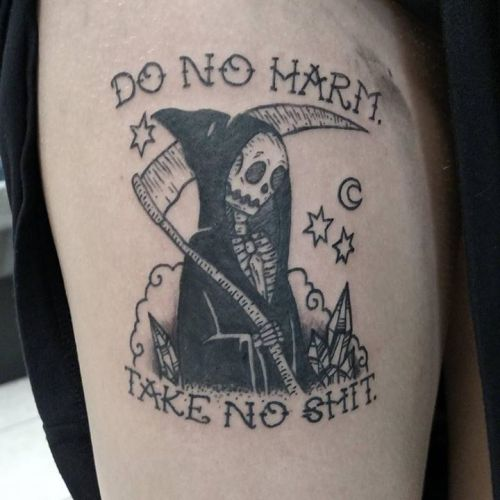 Tattoo Quotes About Death: The Grim Tattoo