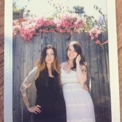 Me and @sincerelyrambo #instax by @traviscody  #film #suicidegirls #tattooedgirls