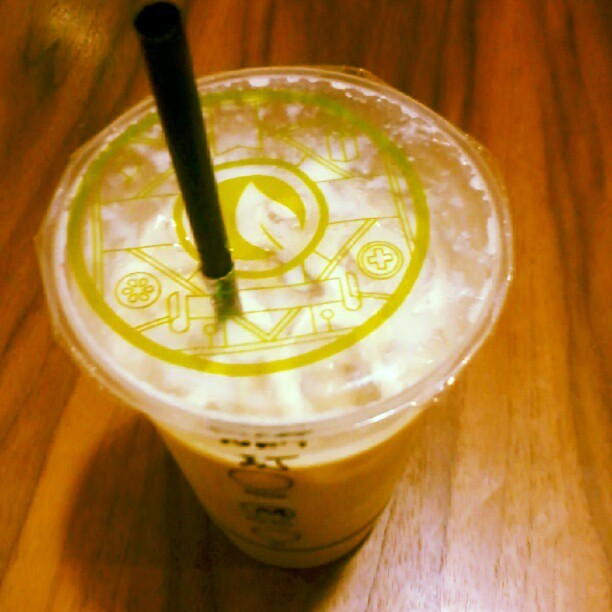 Wintermelon milk tea #moonleaf