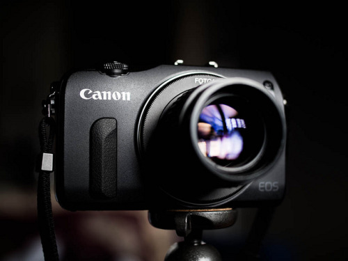 Canon EOS M by Temelko Temelkov on Flickr.
