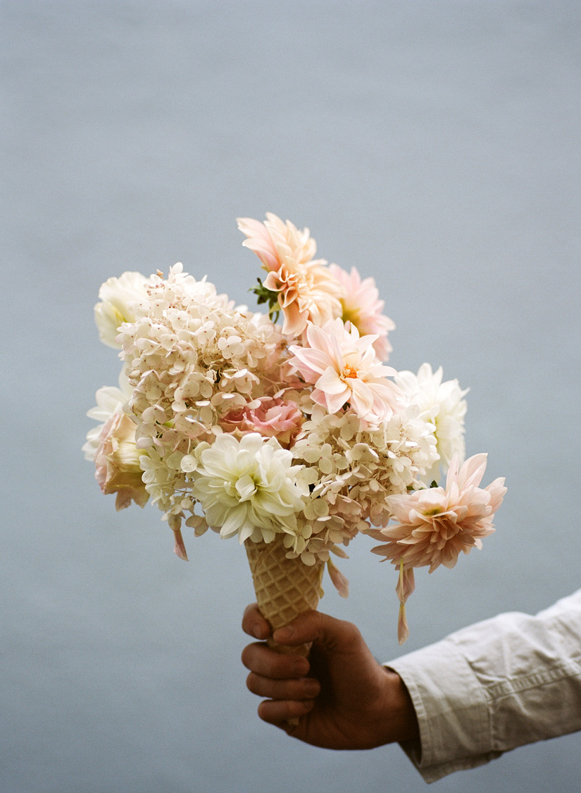 siftingflour:  Floral Scoops | Kinfolk Magazine ph. Parker Fitzgerald I made these in my last project. But their scoops are far more beautiful.