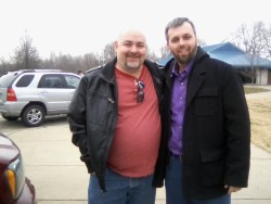 I ran into Matt Dillahunty at a rest area while driving to my mom's house on Christmas day. Here's the story: My Christmas Experience.