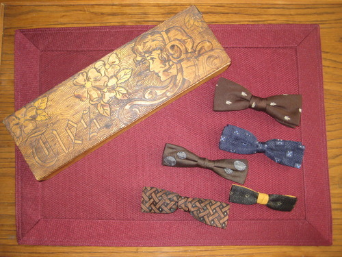 vintage mini bow ties