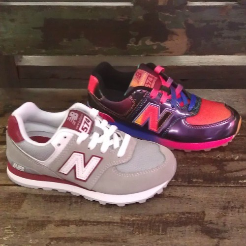 Brand new Kids @NewBalance 574s for Spring/Summer! #newbalance #kids #shoes #574 #kidsshoes #spring #summer #sneakers #tiedye #rainbow #brightcolors