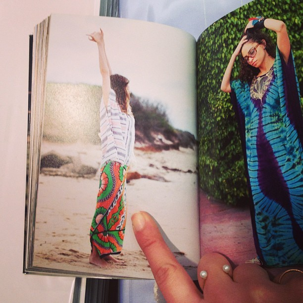 Spotted! #lemlem in @thesartorialist's book Closer (at Colette)