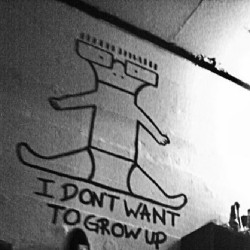 xdeadkennedyx:  Forever true. #descendents #idontwanttogrowup