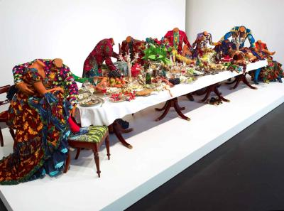 Yinka Shonibare @ Stephen Friedman Gallery Shonibare explores the origins of an print commonly worn in Africa, due to its production in Dutch…View Post