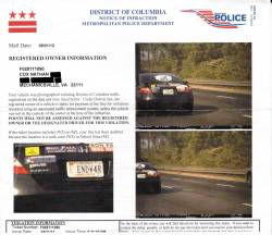 How to Beat a Photo-Enforced Speeding Ticket (or Red Light Ticket) Virginia Cop Block, virginiacopblock.org Last year I received a letter in the mail from the Washington D.C DMV claiming I was speeding. As you can see it was one of those Photo-Enforced Speeding Tickets and they had multiple pictures of my CAR. I knew better to just submit and pay a fine…  This is handy advice, filed away for my next camera based ticket.