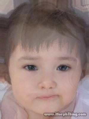 when i morphed a baby between me and james before i got pregnant lmfaoo