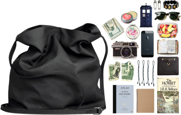 what's in my bag? by halcyons featuring a zip wallet