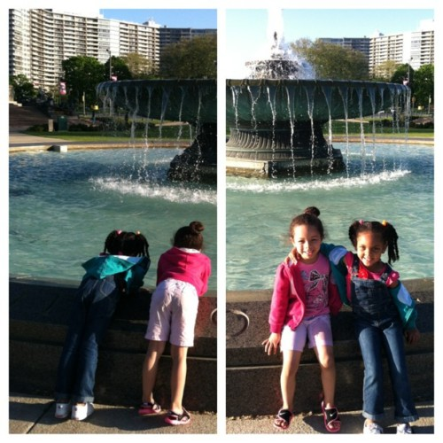 #Philly #Beautiful. Next generation… #ArtMuseum @_mojo_21 @deestew512  (at Philadelphia Museum of Art)