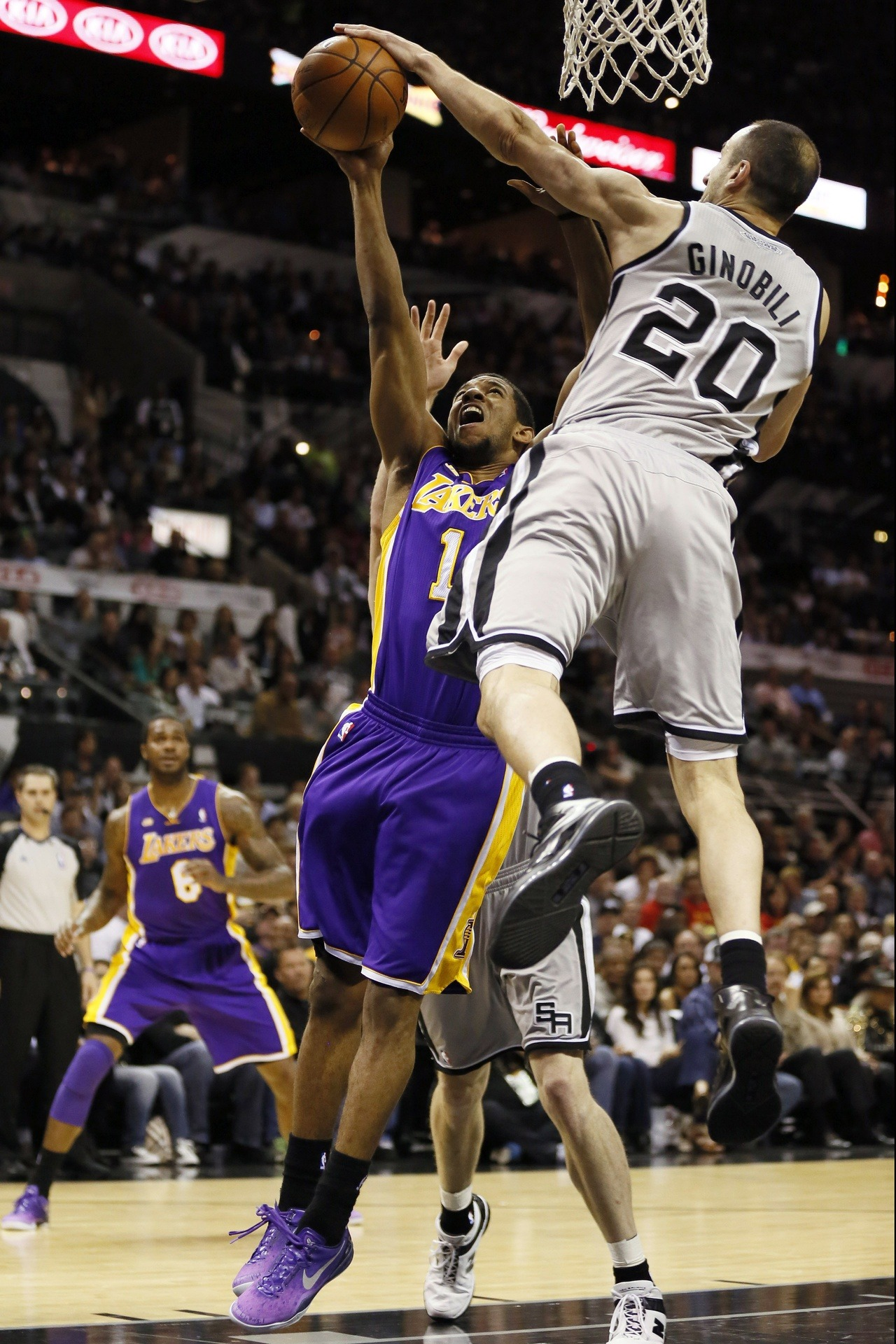 Game 2: Spurs 102, Lakers 91 BUY or SELL the Lakers winning a game in this series?