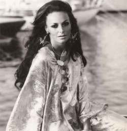 Diane von Furstenberg in the 70's