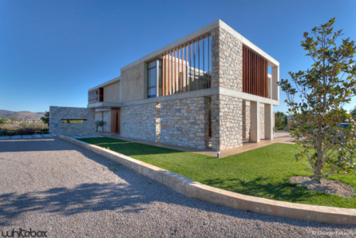 Residential Architecture: Stone House in Anavissos by Whitebox Architects..(via * Residential Architecture: Stone House in Anavissos by Whitebox Architects)