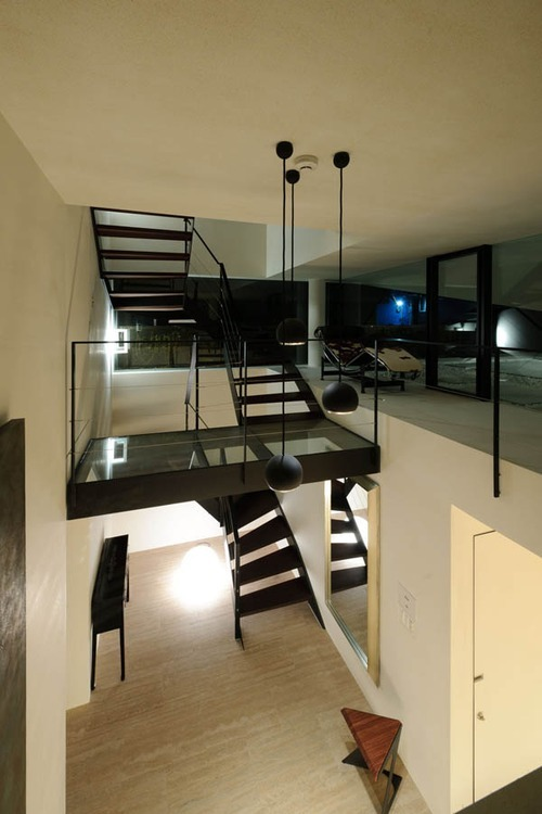 justthedesign:  Staircase At The N-House by Takato Tamagami