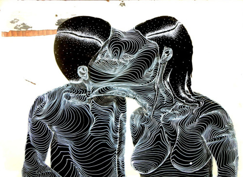 gaksdesigns:  The melting kiss by Artist Awer