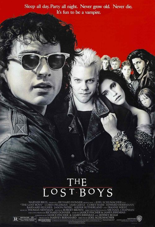 46.) The Lost Boys (1987) 25/73