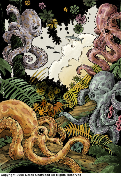 fer1972:  That Thing With The Octopi by Derek Chatwood