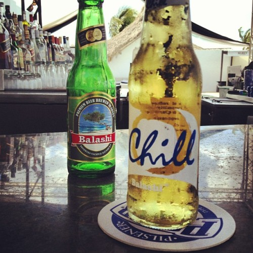 Breakfast #beers in #aruba. The jet lag has been a bitch. But beer helps.  (at Nikky Beach Club)