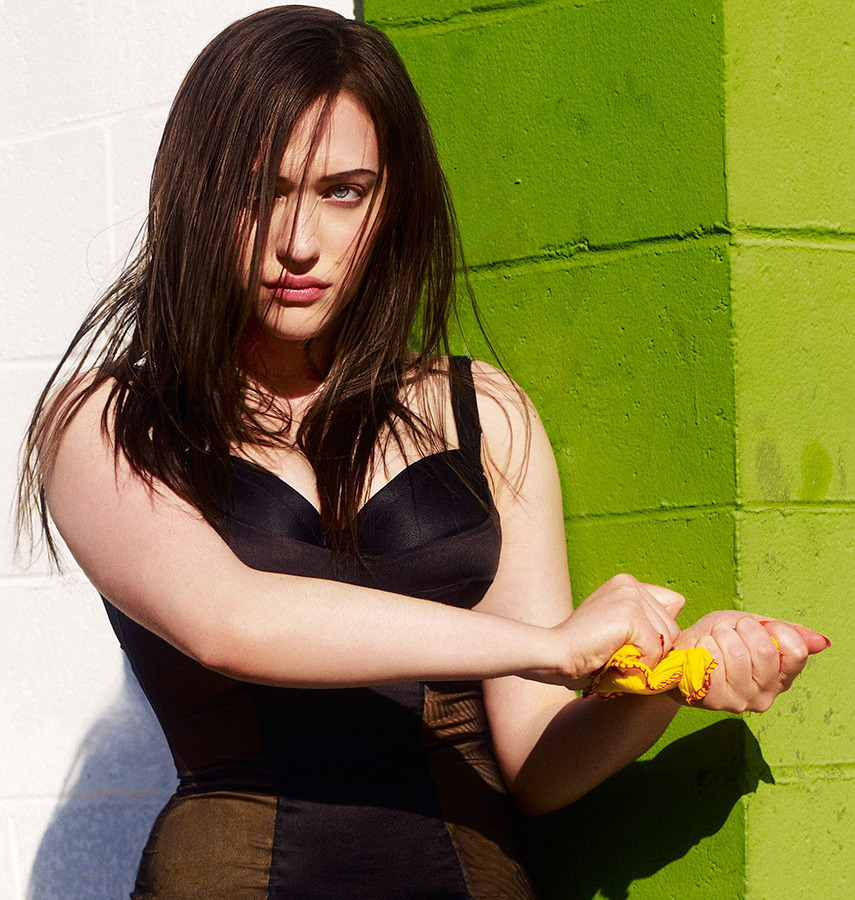 Kat Dennings - Flaunt by Warwick Saint, August 2010