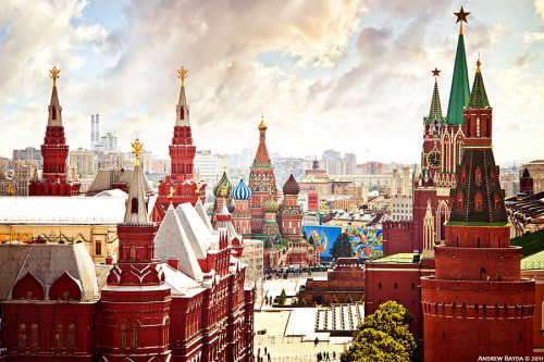 """Just Moscow"" by Andrew Bayda"
