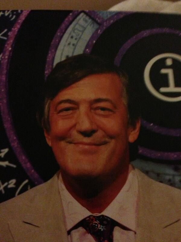 Stephen Fry - At first glance, it's @stephenfry  Well, turn it upside down and look! Adolf Hitler!