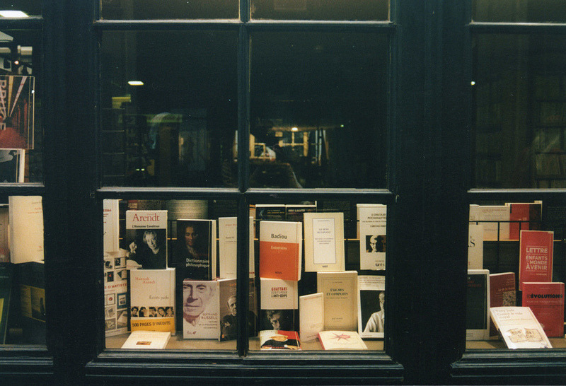 | ♕ |  Bookstore window in Brussels  | by © Fabrizio Mingarelli