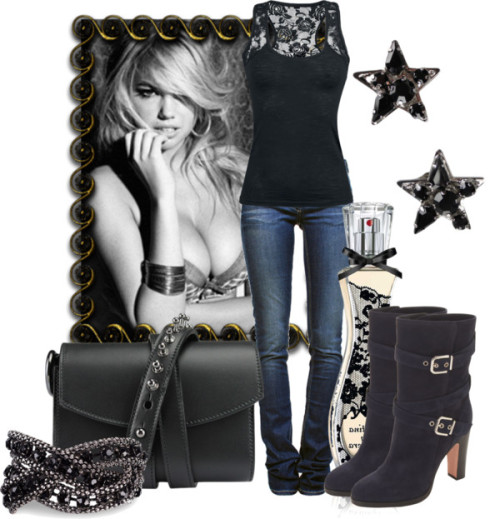 damonandelena4ever:   Seeing Stars by leelee107 featuring genuine leather handbags