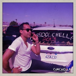 The Avtar. #Coachella #Carpoolchella