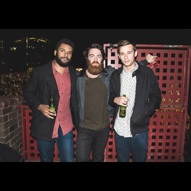 Hangs w/ @hellomitzi @chetfaker Photo by @deckland from @hoboincognito http://bit.ly/16tu0JR