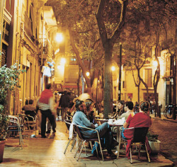 condenasttraveler:    Europe's New Deal | Hanging out on Valencia's Plaza Esparto