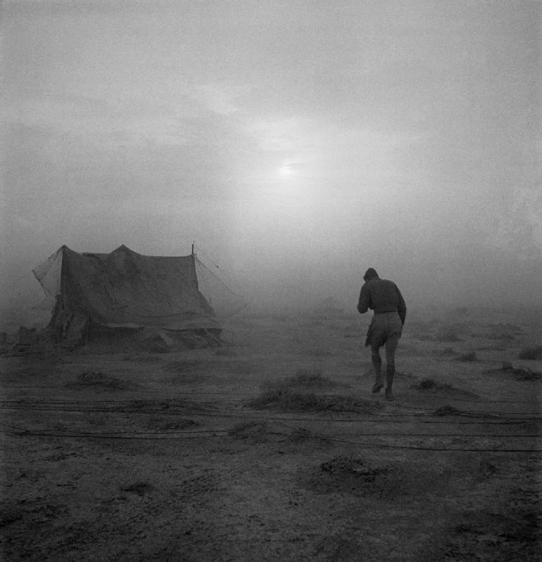 uncertaintimes:  Cecil Beaton, A sandstorm in the desert…, 1942