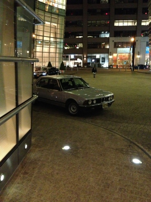 2087:  Super rare BMW E23 745i Euro near 58th and Lexington