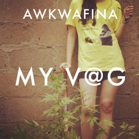 "RAPPER @AWKWAFINA HAS SWAG PUMPING OUT HER OVARIES W/ ""MY VAG""by Blaire Bercy http://bit.ly/17gCJ0j"