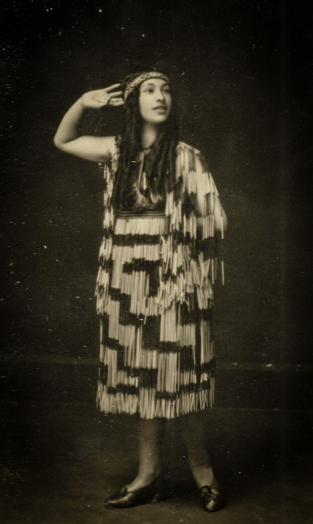 my whanau. Nora Barton. early 1900s. Awesome.