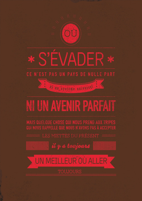 -Illustration- Série d'illustrations typographique - citations