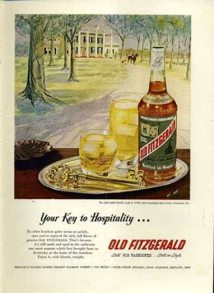 (via Vintage Alcohol Ads of the 1950s)