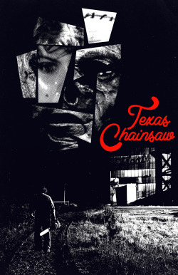 The folks at AMP (Alternative Movie Posters) are having a Texas Chainsaw poster design contest. Pictured above is my 4th entry.  by Derek Eads