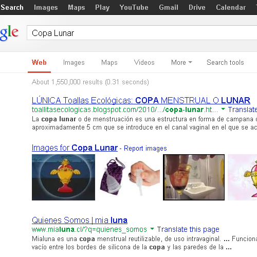 "I WAS JUST LOOKING FOR ""COPA LUNAR"" OMG T_TOH MY GAWD!!! LOOK THAT! JUST LOOK AT THE THIRD PICTURE"