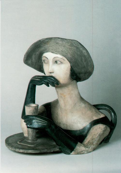 StefanBedřich. Girl with Absinth, 1924