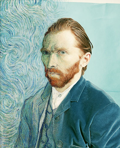 Vincent Van Gogh's Self-Portrait Turned Into a Photograph Photographer Tadao Cern recently decided to explore what Van Gogh's work would look like as photography instead of painting, taking one of the artist's most famous self-portraits and using Photoshoppery to transform it into a still photo.